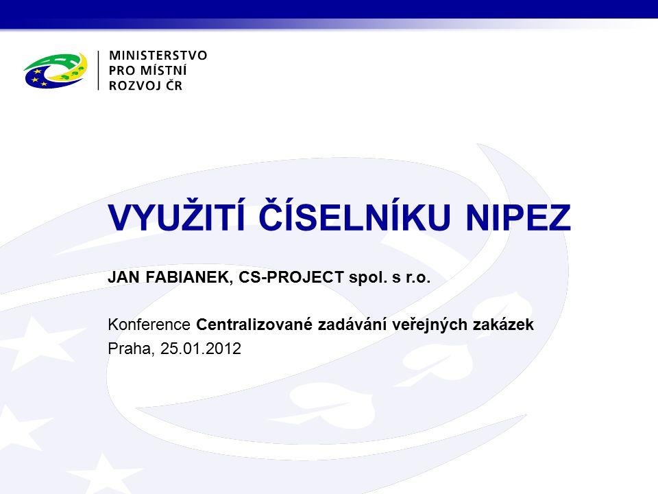 JAN FABIANEK, CS-PROJECT spol. s r.o.