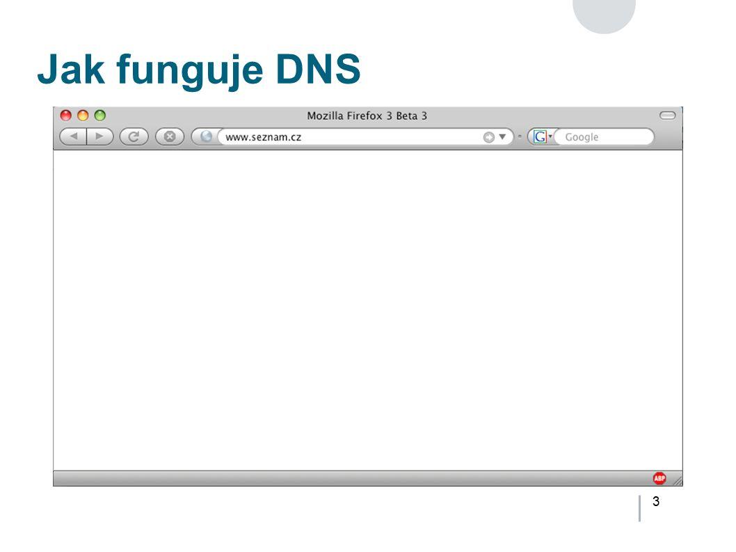 3 Jak funguje DNS