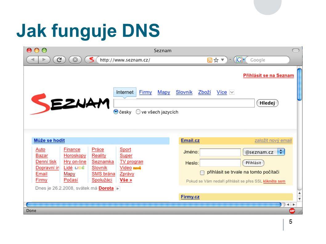 5 Jak funguje DNS