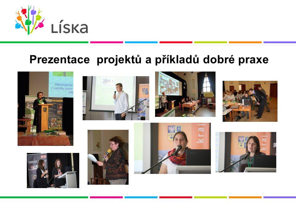 Prezentace projektů a příkladů dobré praxe