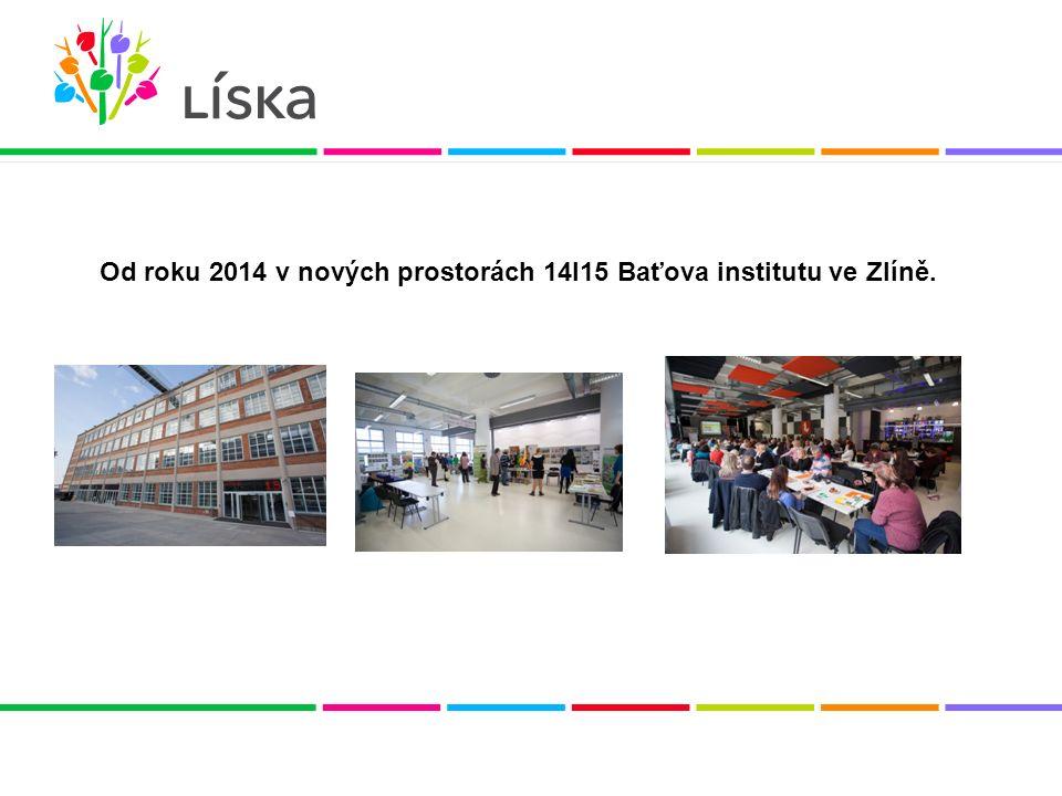 Od roku 2014 v nových prostorách 14I15 Baťova institutu ve Zlíně.