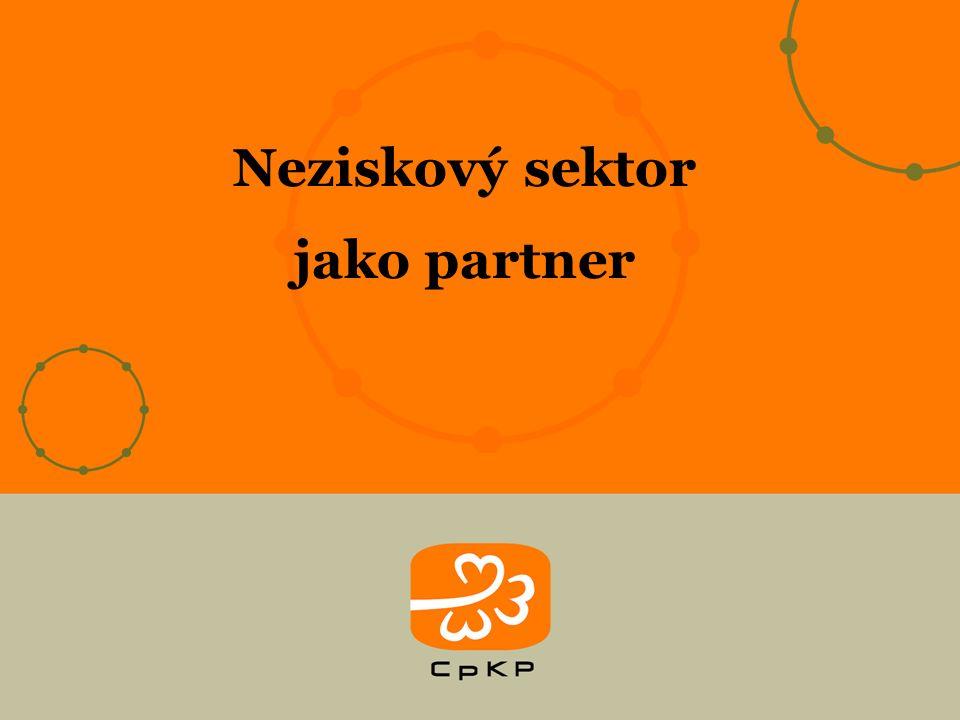 Neziskový sektor jako partner