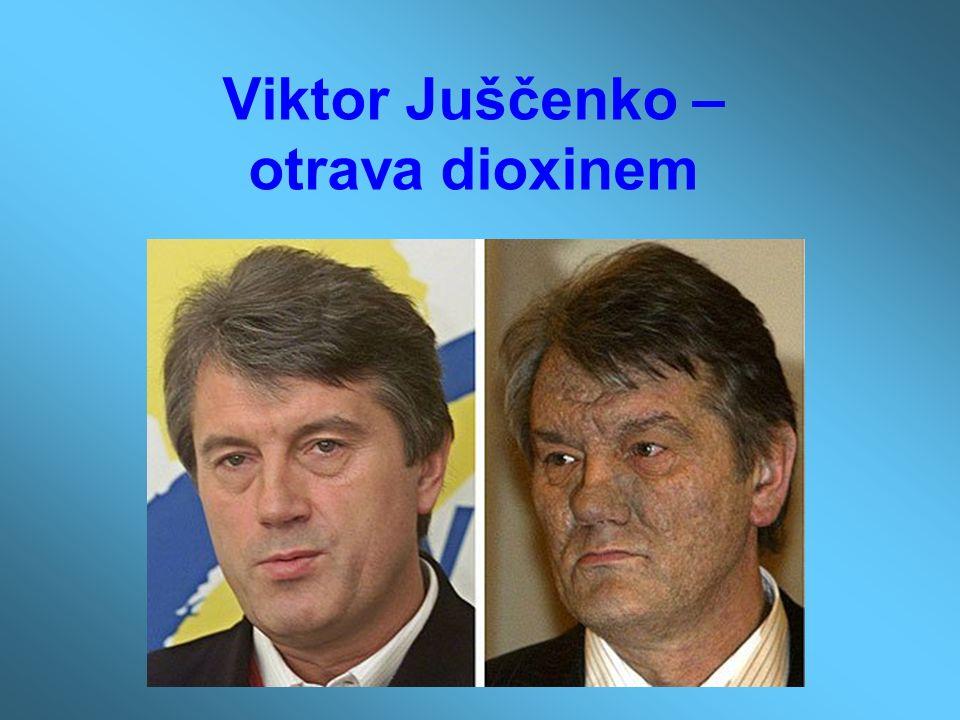 Viktor Juščenko – otrava dioxinem
