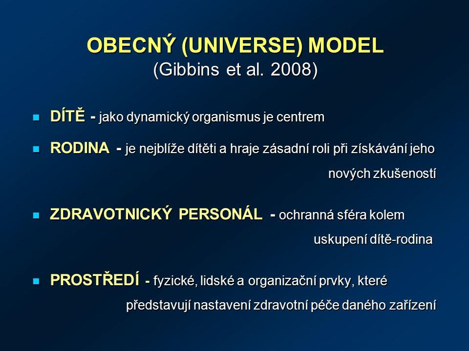 OBECNÝ (UNIVERSE) MODEL (Gibbins et al.