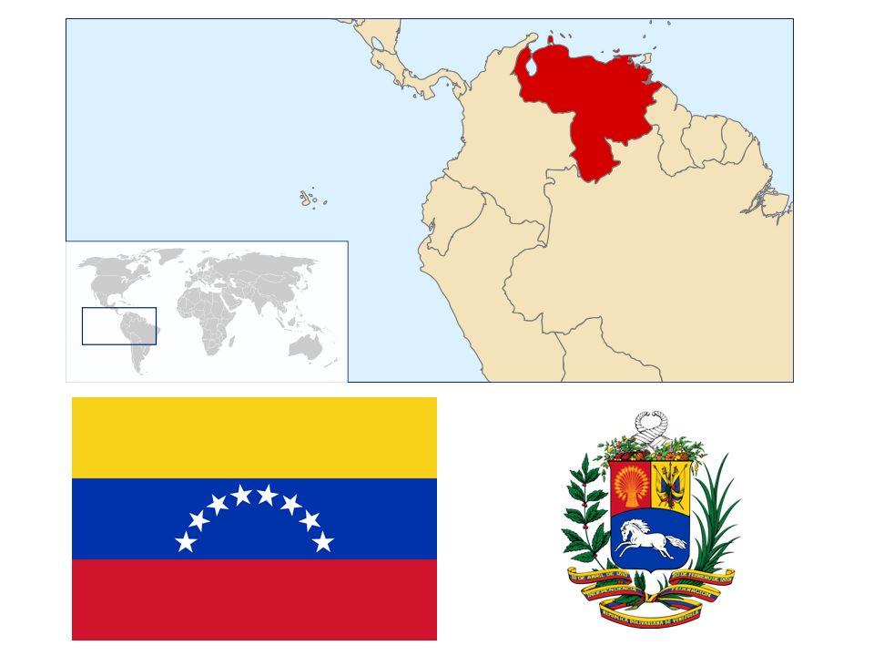 GEOGRAFIE Území lze rozdělit do 3 oblastí- Andy, tektonická oblast s jezerem Lago de Maracaibo a Guyanská vysočina Nejvýznamější řeka: Orinoco Největší vodopád světa: Salto de Angel- 979m Jezero Maracaibo Deštivé léto a suchá zima