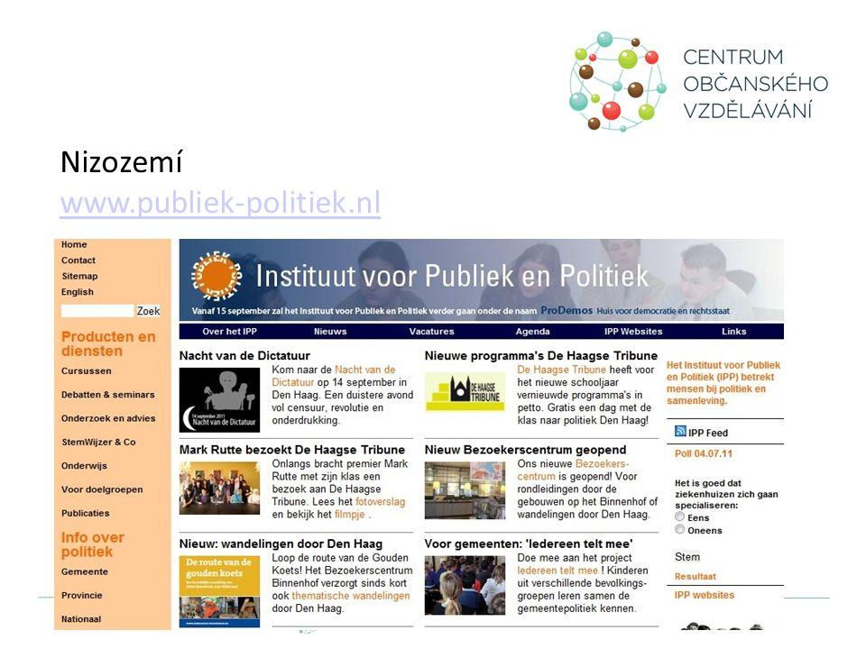 Nizozemí www.publiek-politiek.nl