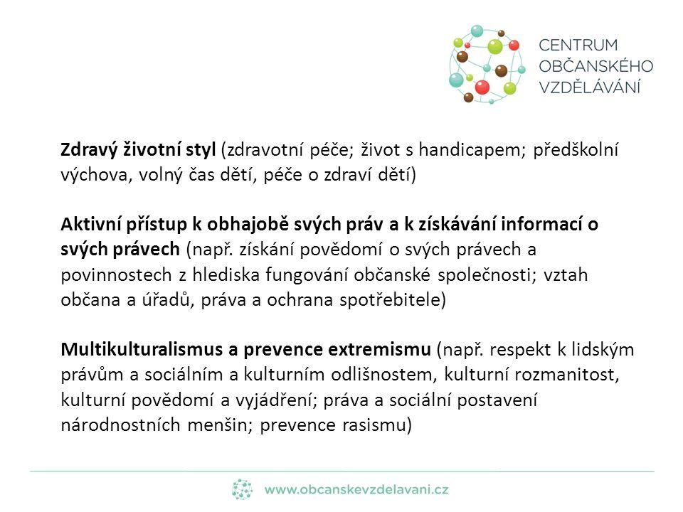 Prevence kriminality, šikany, psychického násilí (např.