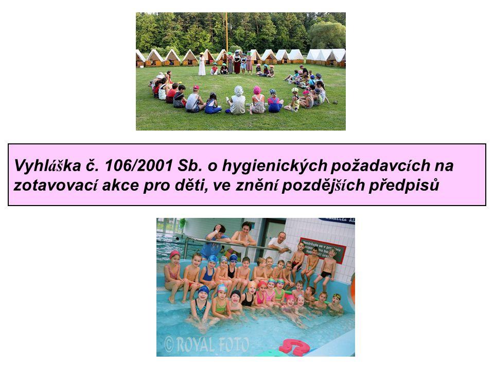 Vyhl áš ka č. 106/2001 Sb.