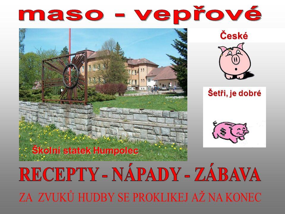 České Šetři, je dobré Školní statek Humpolec