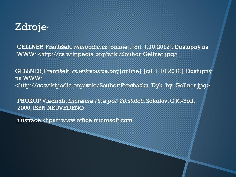 GELLNER, František.wikipedie.cz [online]. [cit. 1.10.2012].