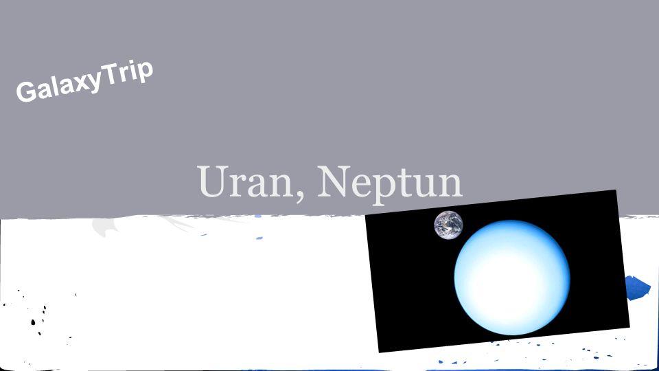 Uran ● Doba oběhu okolo Slunce je 84 let ● Průměr planety je 51 118 km ● Plynný obry a společně s Neptunem i mezi tzv.