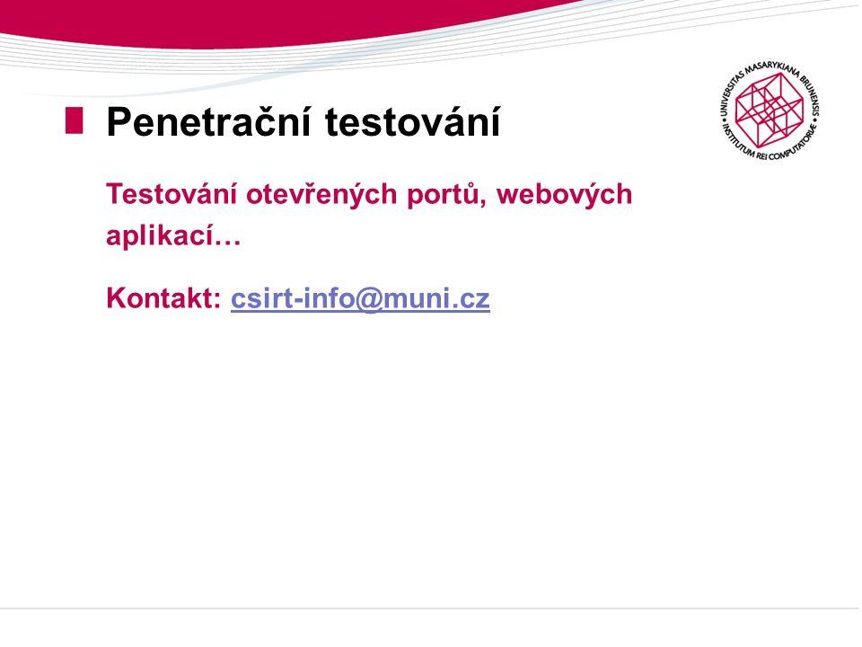 Děkuji za pozornost. Jméno Příjmení jmeno@ics.muni.cz http://www.ics.muni.cz/~jmeno