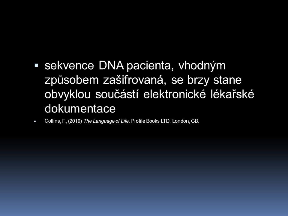 Etika publikování výsledků  ihned poté, co byly první výsledky publikovány bylo jasné, že tyto sekvence mohou být užitečné pouze pokud budou vystaveny na síti v elektroincky čitelné formě.