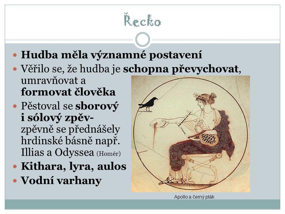 Hudba v období antiky 4. tis.pr. n. l.-5. st. n. l.