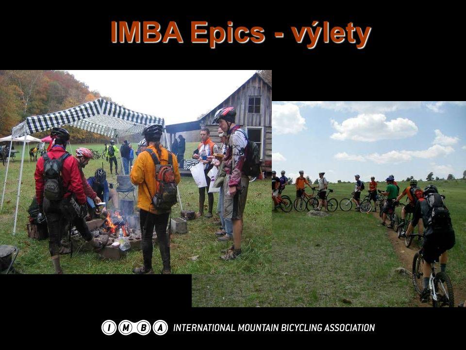 IMBA Epics - výlety