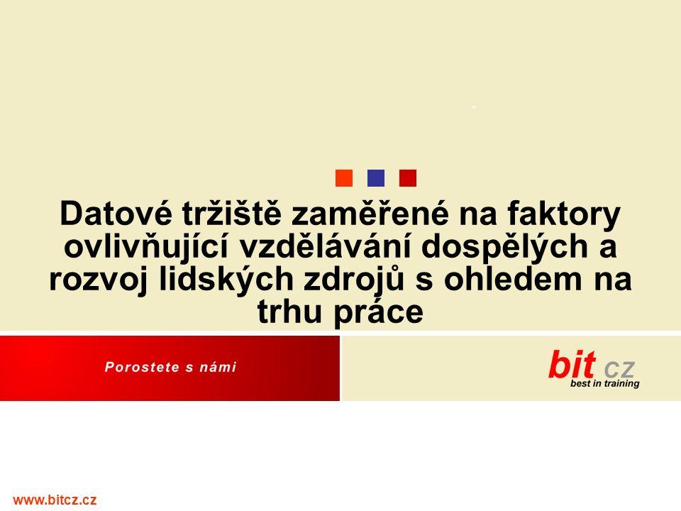 www.bitcz.cz Datové tržiště zaměřené na faktory ovlivňující vzdělávání dospělých a rozvoj lidských zdrojů s ohledem na trhu práce