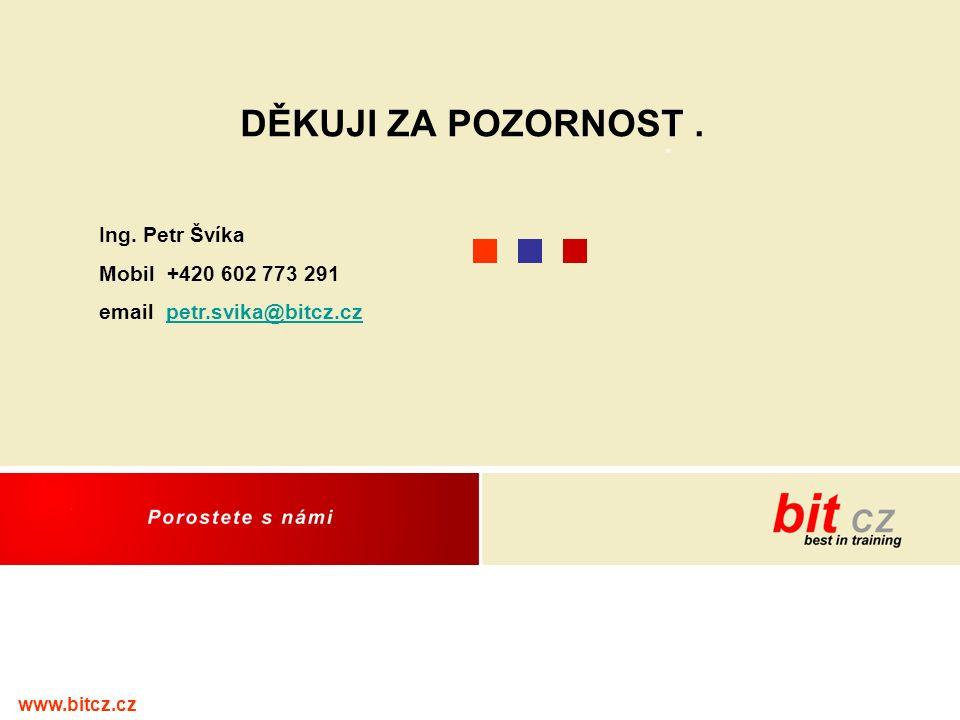 www.bitcz.cz DĚKUJI ZA POZORNOST. Ing.