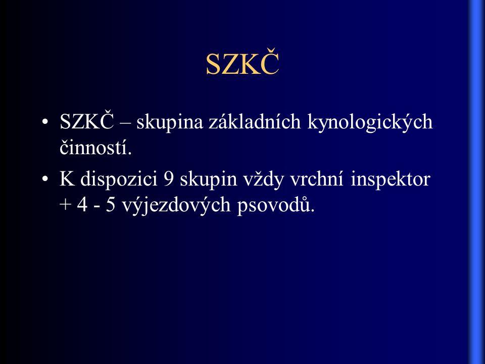 SZKČ SZKČ – skupina základních kynologických činností.