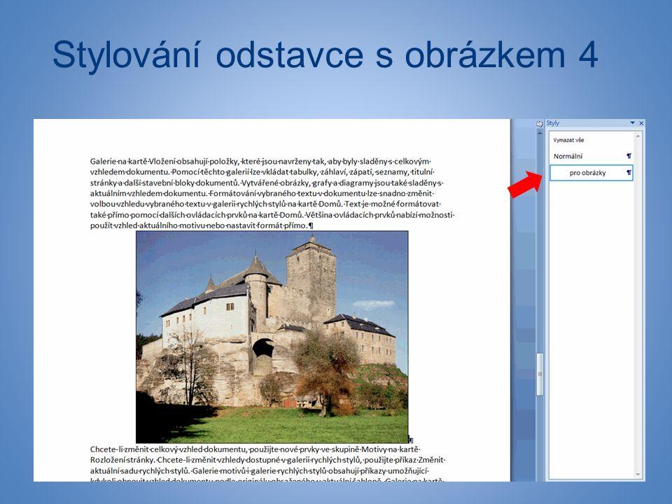 Stylování odstavce s obrázkem 4