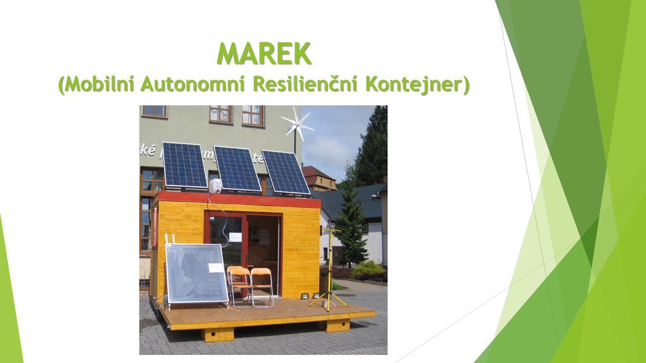 MAREK (Mobilní Autonomní Resilienční Kontejner)