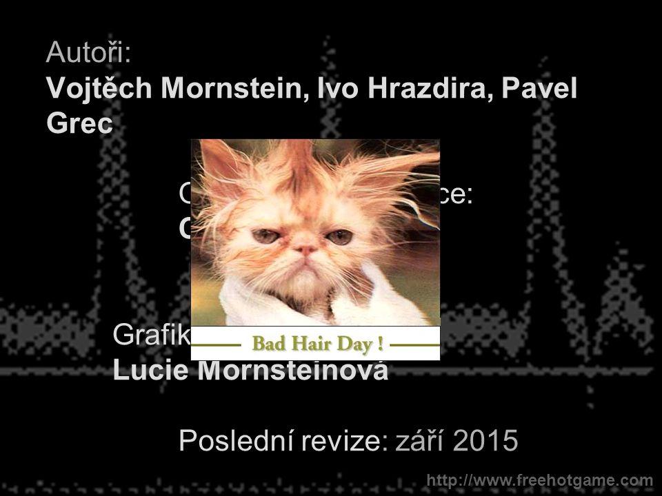 Autoři: Vojtěch Mornstein, Ivo Hrazdira, Pavel Grec Obsahová spolupráce: Carmel J.