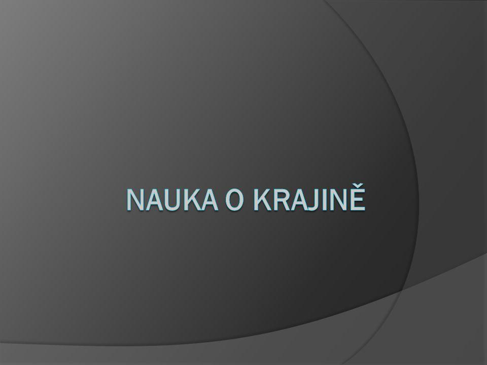 Krajinné mapy Přírodní krajiny České republiky 1:500 000 271 typů přírodní krajiny