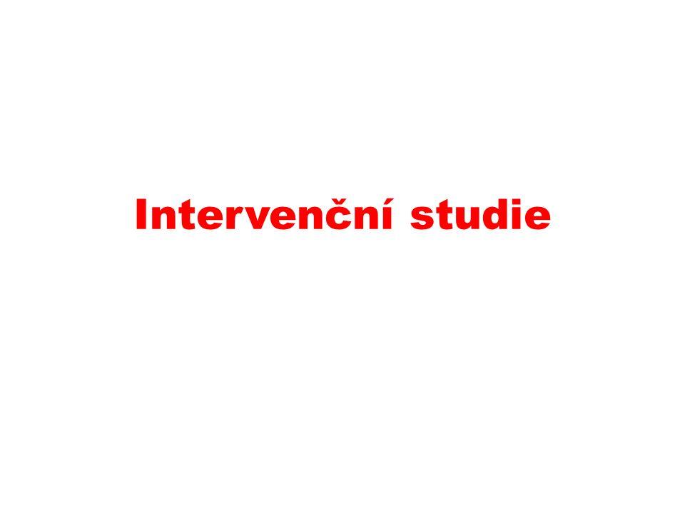 Intervenční studie