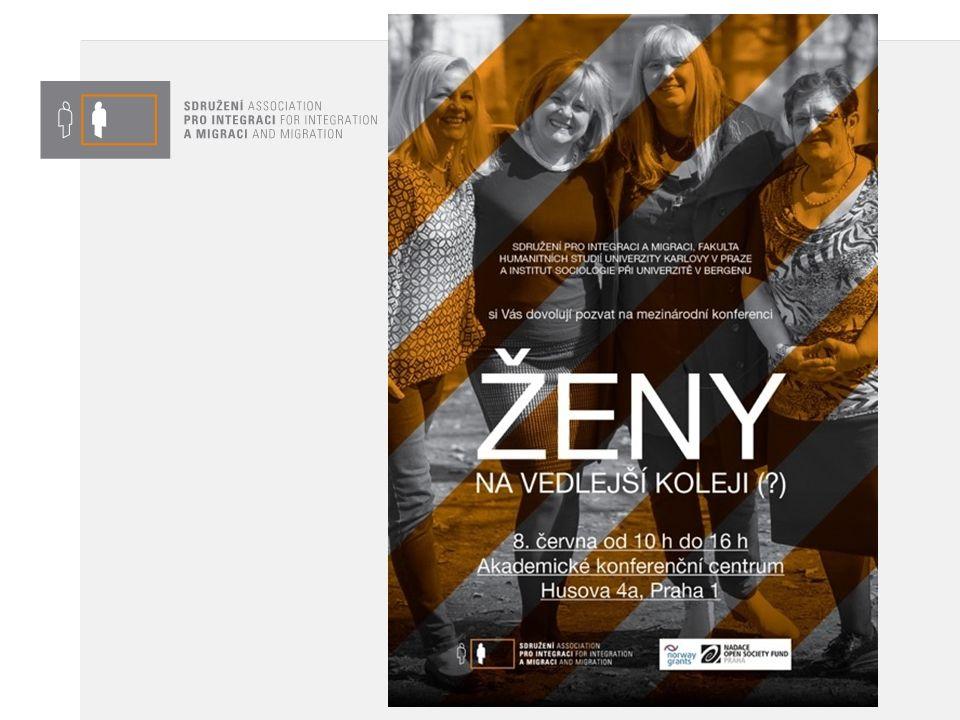 Ženy na vedlejší koleji (?) Realizace: 1.7.2014 – 31.7.2016 Podpora: Nadace OSF Praha v programu Dejme (že)nám šanci, financovaný z Norských fondů Příjemce: SIMI, o.p.s.