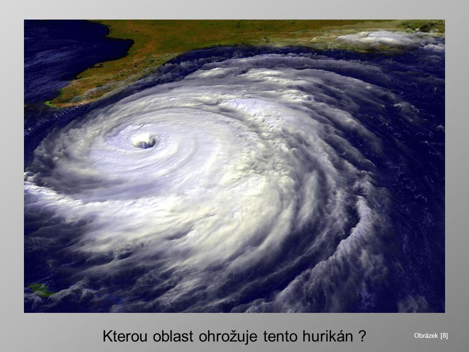 Kterou oblast ohrožuje tento hurikán ? Obrázek [8]