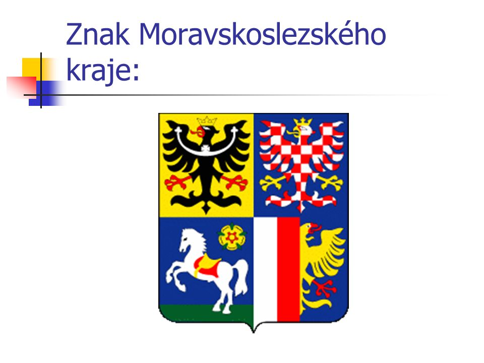 Znak Moravskoslezského kraje: