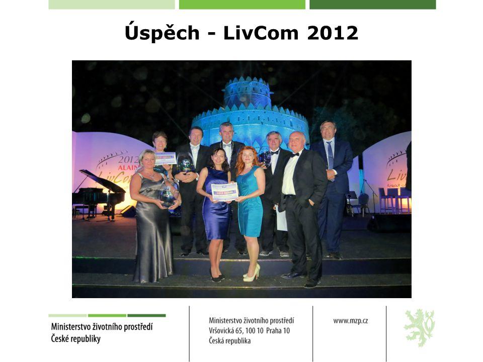 Úspěch - LivCom 2012