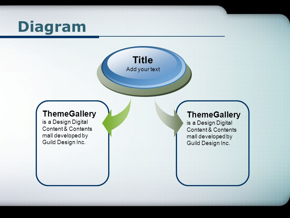 Diagram ThemeGallery is a Design Digital Content & Contents mall developed by Guild Design Inc.