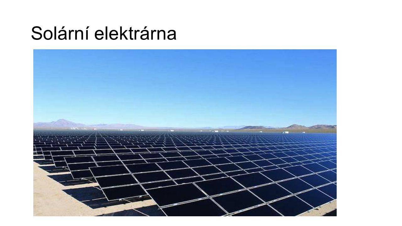 Tepelná elektrárna Přeměna tepelné energie na elektrickou