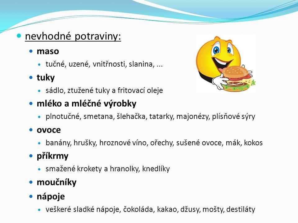 Jídelníček diety č.9