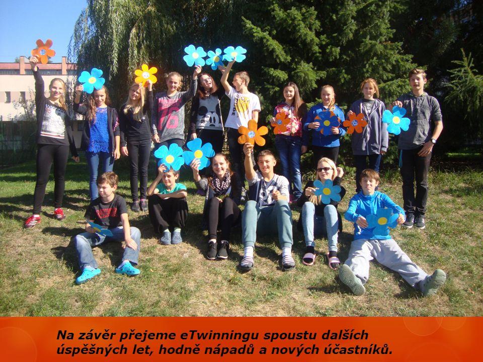Na závěr přejeme eTwinningu spoustu dalších úspěšných let, hodně nápadů a nových účastníků.
