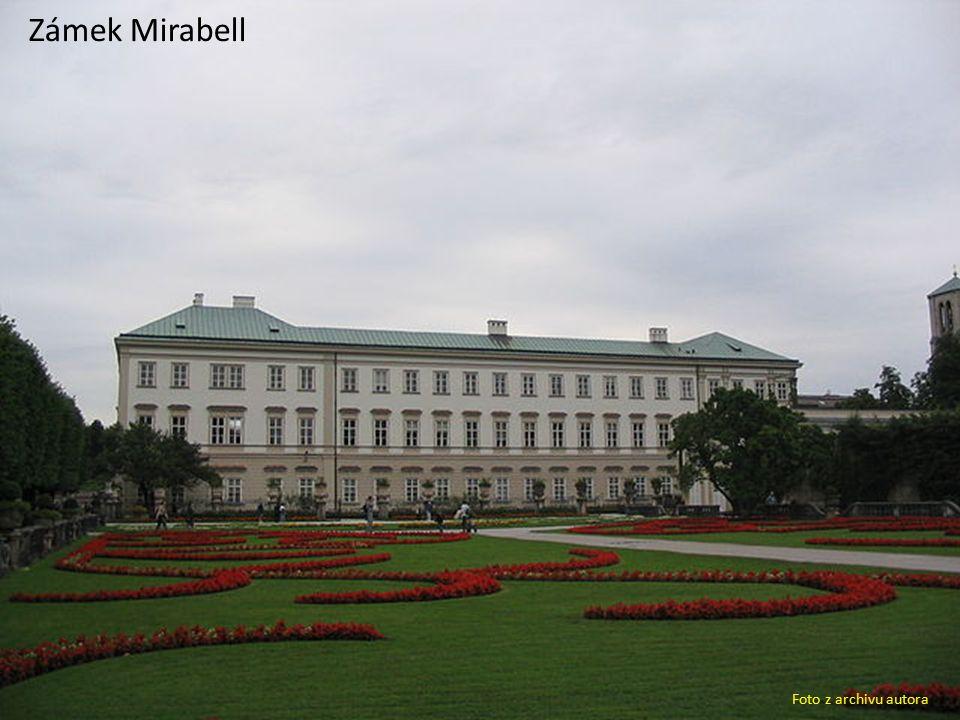 Zámek Mirabell Foto z archivu autora