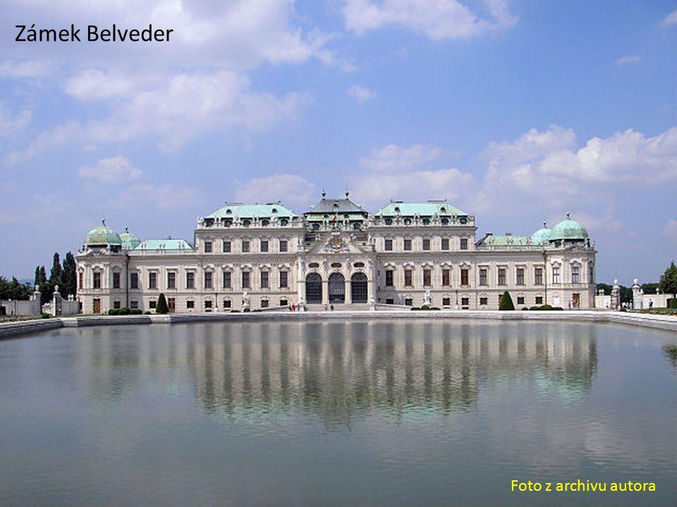 Zámek Belveder Foto z archivu autora