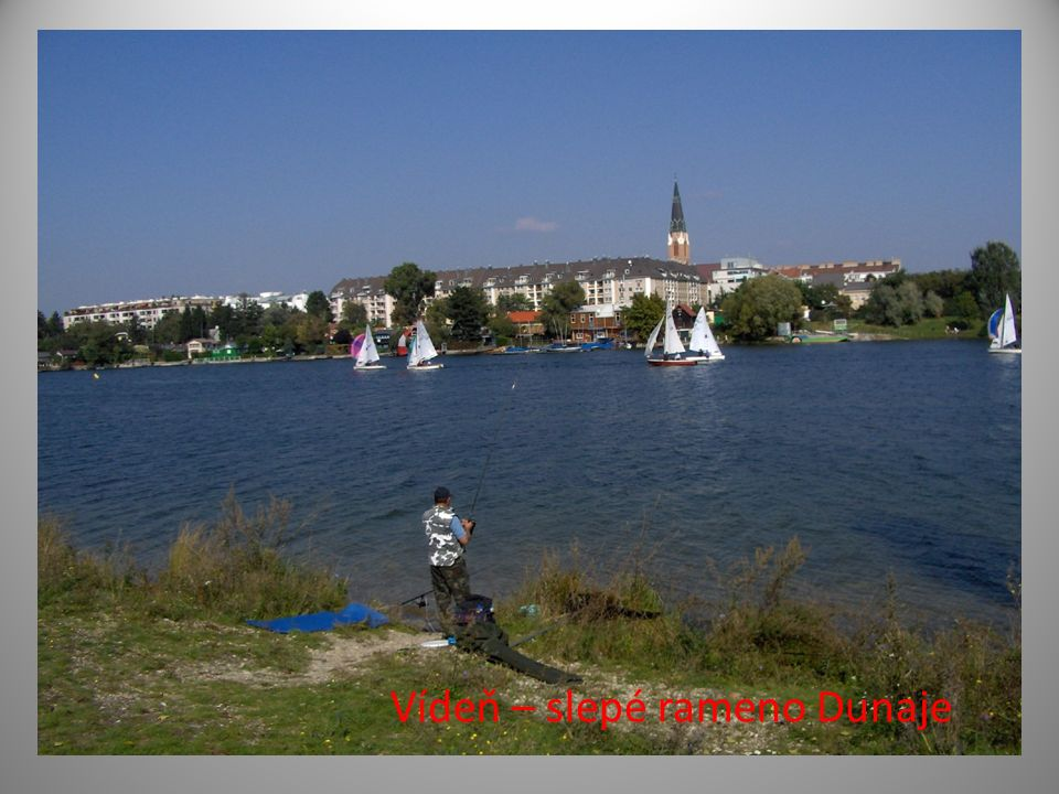Vídeň – slepé rameno Dunaje
