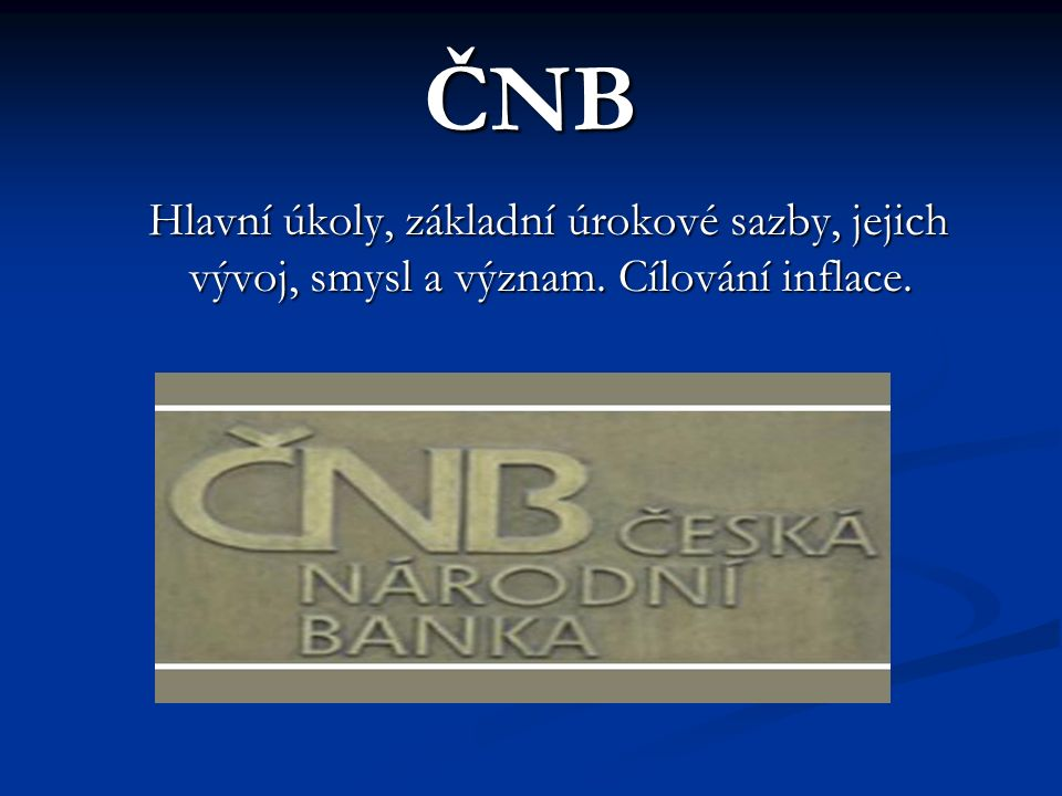 Repo operace obě strany se zároveň zavazují, že po uplynutí doby splatnosti proběhne reverzní transakce, v níž ČNB jako dlužník vrátí věřitelské bance zapůjčenou jistinu zvýšenou o dohodnutý úrok a věřitelská banka vrátí ČNB poskytnutý kolaterál ( ), obě strany se zároveň zavazují, že po uplynutí doby splatnosti proběhne reverzní transakce, v níž ČNB jako dlužník vrátí věřitelské bance zapůjčenou jistinu zvýšenou o dohodnutý úrok a věřitelská banka vrátí ČNB poskytnutý kolaterál (cenný papír sloužící k zajištění úvěru v rámci repo operace), základní doba trvání těchto operací je stanovena na 14 dní, avšak v závislosti na predikci vývoje likvidity bankovního sektoru jsou čas od času prováděny i repo operace s dobou splatnosti kratší než 14 dní.