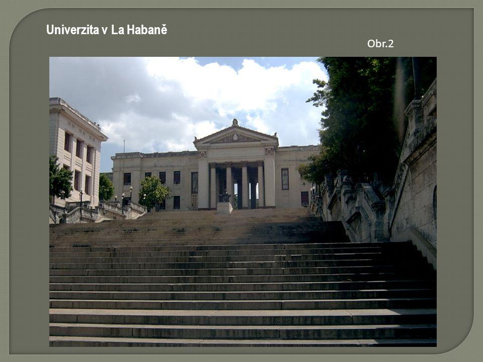 Univerzita v La Habaně Obr.2