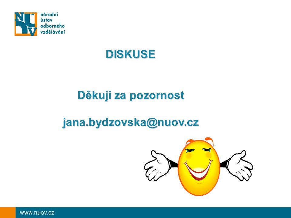 DISKUSE Děkuji za pozornost jana.bydzovska@nuov.cz