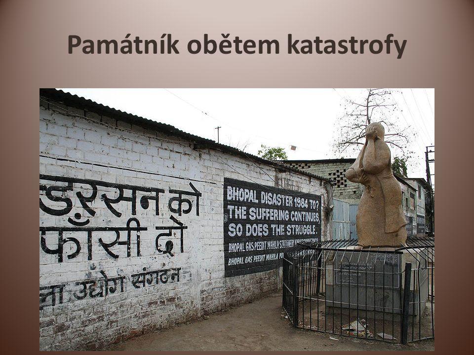 Památník obětem katastrofy