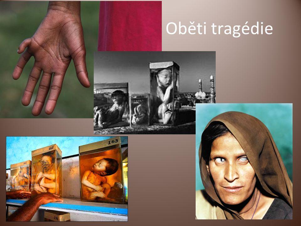 Oběti tragédie