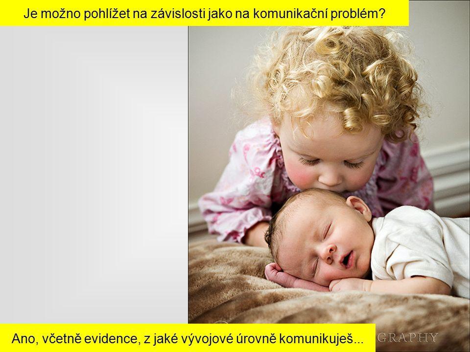 Ano, včetně evidence, z jaké vývojové úrovně komunikuješ...