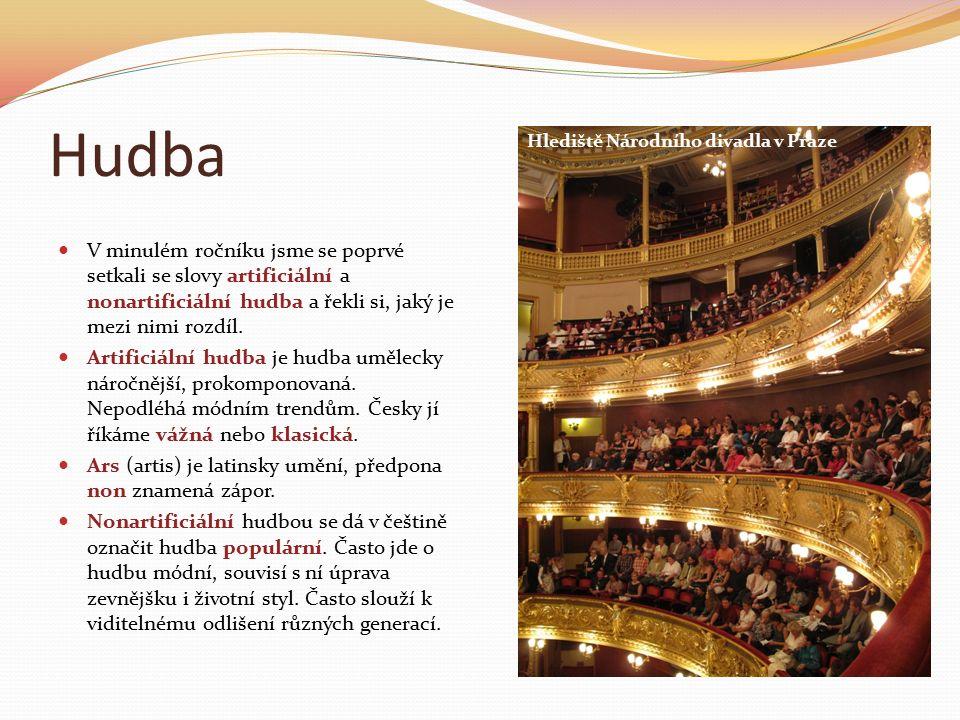 Česká populární hudba 19.století Česká populární hudba se začala objevovat na počátku 19.