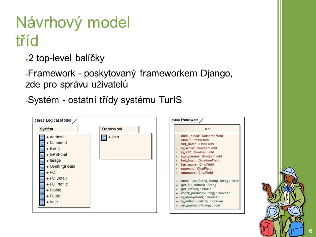 7 Návrhový model tříd (2)