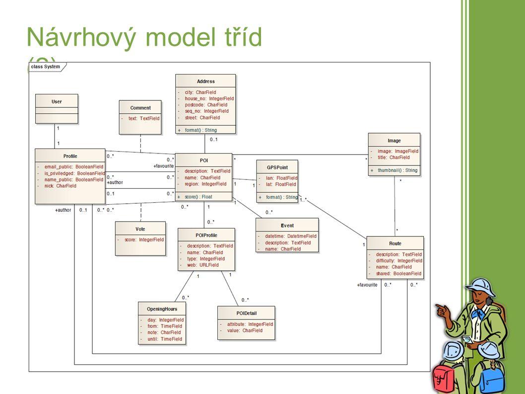 8 Model komunikace ● Model komunikace definován formou sekvenčních diagramů