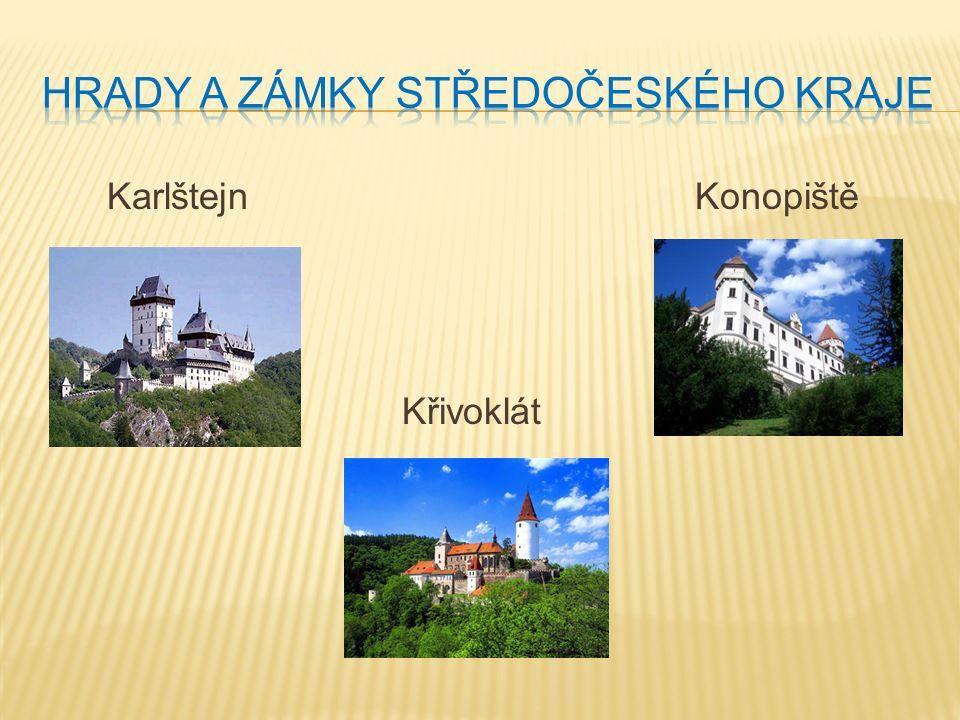 Použij mapu Středočeského kraje nebo slova v závorce.