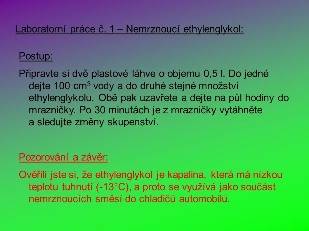 Laboratorní práce č.