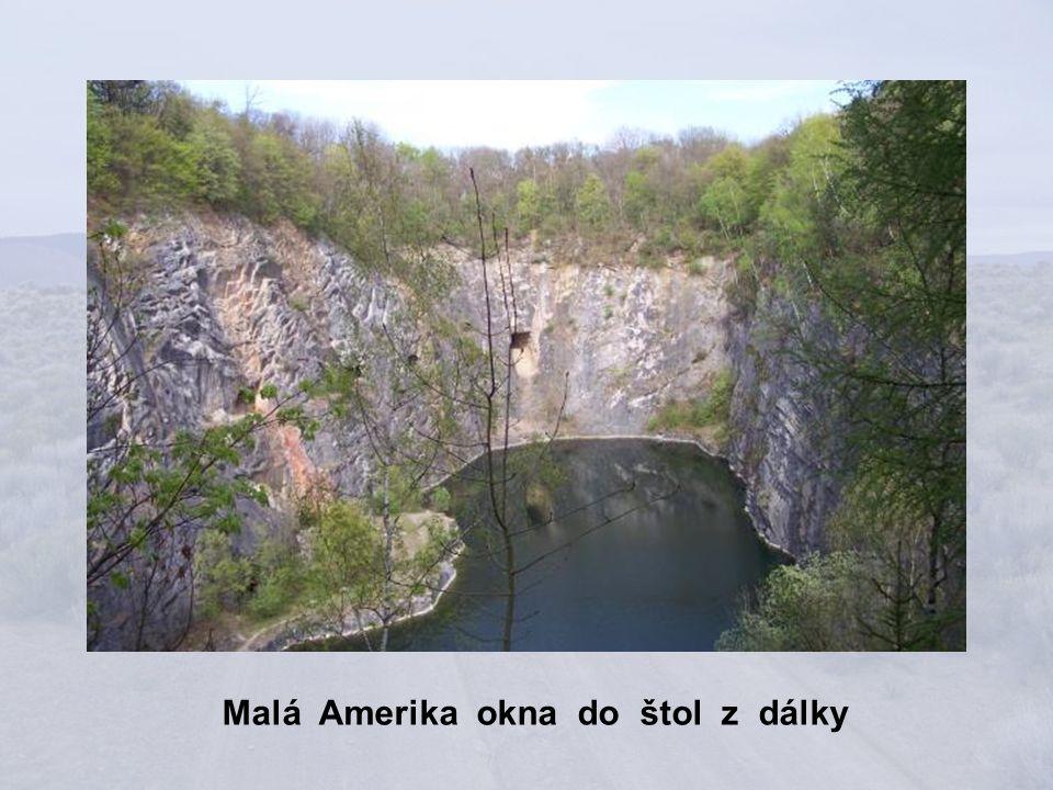 Malá Amerika z levé strany
